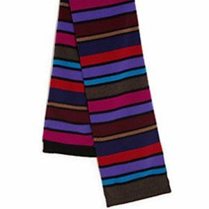 PAUL SMITH London BLOCK Striped MEN's Wool Scarf